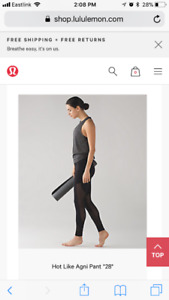 Hot like Agni (lululemon)