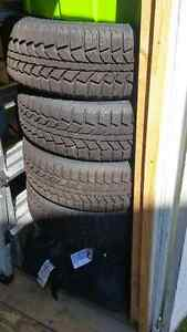 Uniroyal Winter Tires - 185/60/ R15 on Rims for 400 OBO