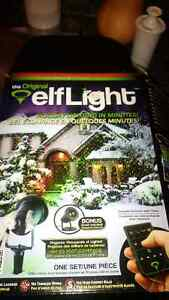 Brand new outdoor Elf Light for Christmas!