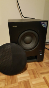 Sony SA-WX700  Active Powered Dual Subwoofers 250 WATTS