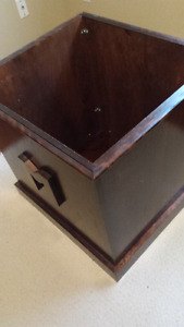 Large Solid wood toy box