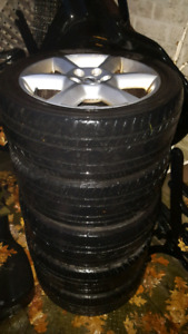 245/45 R18 - Tires on 18 inch alloy rims