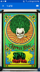 ISO Cypress Hill 90's Posters and Memorabilia