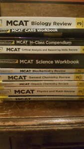 MCAT textbooks