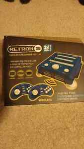 RETRON 3 GAME SYSTEM & GAMES