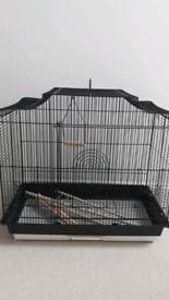 Budgie Cage, travel cage and accessories
