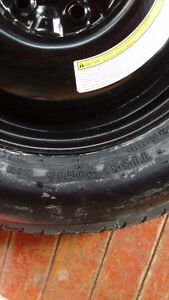 Spare tire from 2009 Nissan Rogue