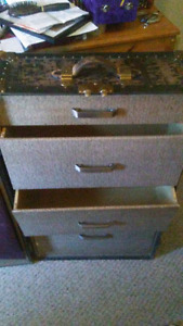 Old travelling cloths closet chest