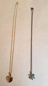 "2x 16""Chain Necklaces"