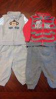 LARGE LOT OF BOYS 6-12 MONTH CLOTHING