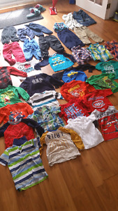 2T-3T shirts and pants lot (35 pieces)