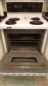 Westinghouse White Electric Stove