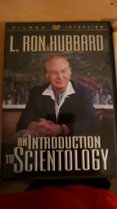 Lot of 4 Scientology and Dianetics DVDs. L. Ron hubbard