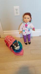 """Veterinary set for 18"""" Dolls"""