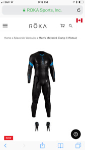 Roka triathlon wetsuit (brand new) never used !