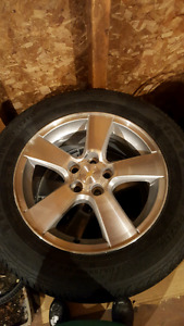 Tires and Rims to fit Chevy Cruze