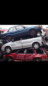 I buy scrap cars!