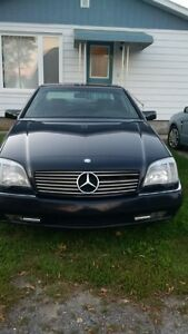 1996 Mercedes-Benz S-Class 600 Coupe (2 door)