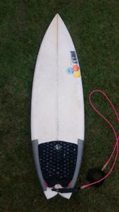 5'8 al merick surfboard