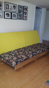 Solid wood CUSTOM MADE couch