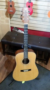 Stage acoustic guitar