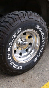 """WANTED 15"""" & 16"""" inch Eagle Rims with or w/o"""