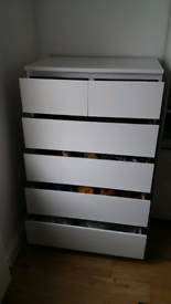 Malm Chest of 6 Drawer