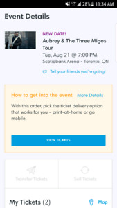 CHEAP Drake and Migos, August 21st @ Scotiabank Arena