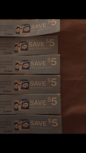Similac coupons ($20 worth)