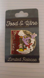 BRAND NEW Disney World Food and Wine Festival Pin