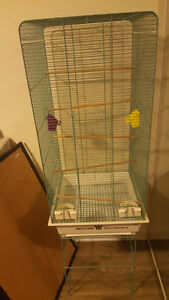 Large Bird Cage w/ Stand
