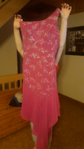 Reduced to sell - Pink Grad Dress