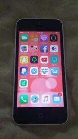 White I phone 5c