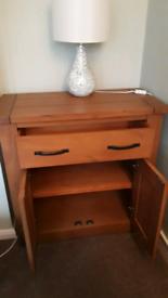 Small oak sideboard