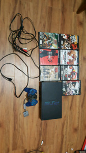 ps2 with 7 games