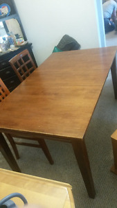 Kitchen Table, Twin Bed Frames, TV Stand