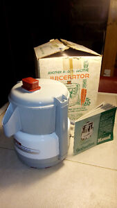 SOLD Acme Juicerator . As new in Box with manual. Made in US