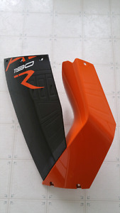 Left side 2014 ktm rc8 fairings