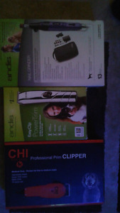 Nail grinder & clippers