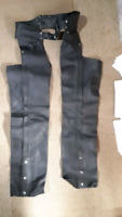 Leather chaps - size small