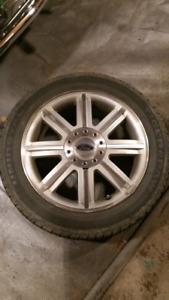 Factory Ford wheels with tires 5x114.3 18 inch