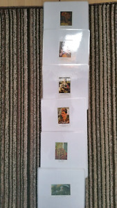 Montessori cards famous paintings