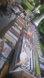 Book sale with some other stuff