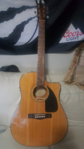 New Fender Acoustic/Electric
