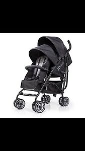Poussette double infant 3D two