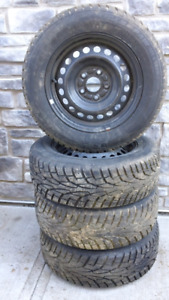 4 Tires with Mags 2017 Civic UNIROYAL 205-65-R15