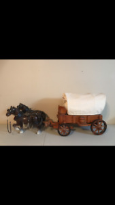 Old West replica wagons