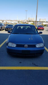 2007 VW golf low mileage