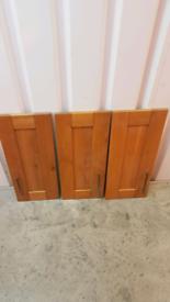 Howdens Solid Oak Tewkesbury 30cm Shaker Kitchen Door (Discontinued)