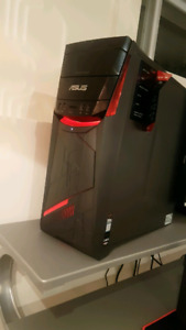 Assus gaming pc , keyboard, mousse, monitor